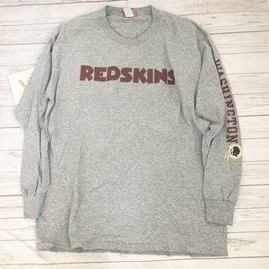 nfl mens l washington redskins long sleeve tshirt